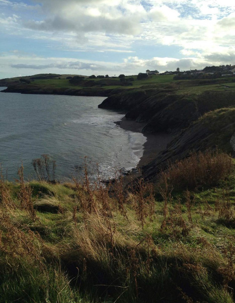 Wicklow coast