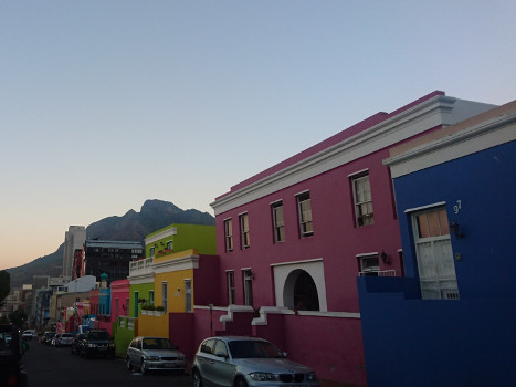 Bo-Kaap and its colored houses