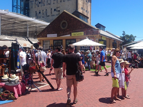 Old Biscuit Mill Market, Woodstock, Cape Town