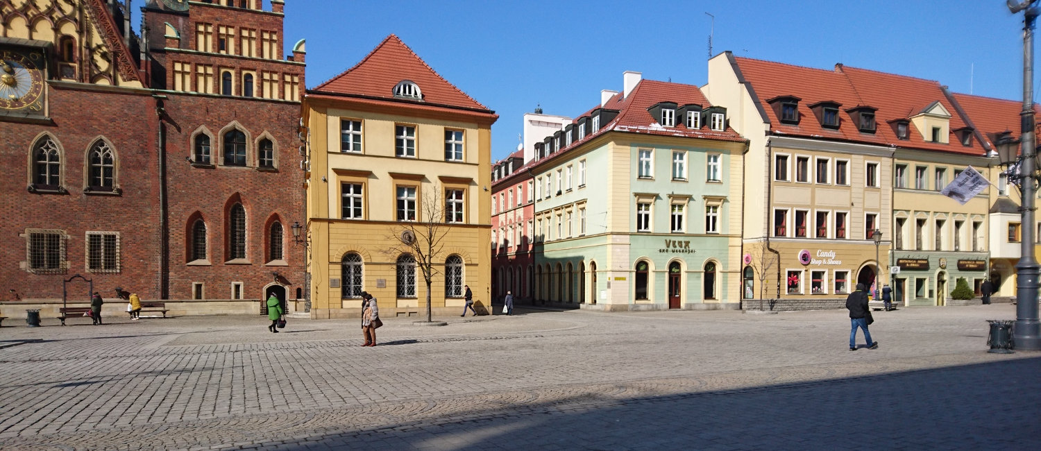 City center of Wroclaw